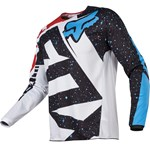 FOX 2017 180 NIRV YOUTH JERSEY - RED/WHITE