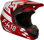 FOX 2018 V1 SAYAK ECE HELMET - RED