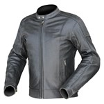 Dririder Icon Leather Jacket -Black