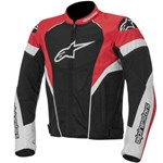 (CLEARANCE) Alpinestars T-GP Plus Textile Jacket - Black/Red