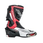 (CLEARANCE) RST Tractech Evo 2 Sport Boots - White/Flo Red