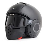 Shark Raw / Drak Blank ECE Helmet - Matt Black