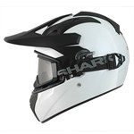 (CLEARANCE SALE) - Shark Explore-R Helmet - Blank White