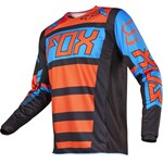 FOX 2017 180 FALCON YOUTH JERSEY - BLACK/ORANGE