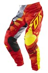 (CLEARANCE SALE) - Fox 2014 180 Radeon Pants - Red / Yellow