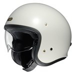 Shoei J.O Helmet - Solid Off White