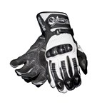 (CLEARANCE) RST BLADE LADIES LEATHER  GLOVES - White/Black