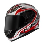 (CLEARANCE) Kabuto Aeroblade 3 Helmet - Torrent White/Red/Black