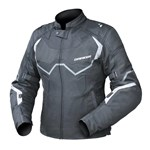 DRIRIDER CLIMATE CONTROL PRO 4 LADIES JACKET BLACK/WHITE
