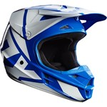 FOX 2017 V1 RACE ECE YOUTH HELMET - BLUE