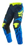 (CLEARANCE SALE) - FOX 2016 180 RACE PANTS - BLUE/YELLOW