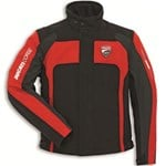 (CLEARANCE) - Ducati Corse Textile Jacket - Black/Red