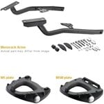 GIVI 351FZ Topcase Monorack Sidearms to suit Yamaha FZ6 2004-2010