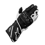 (CLEARANCE SALE) - ALPINESTARS GP PLUS GLOVE - BLACK/WHITE