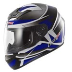 (CLEARANCE SALE) - LS2 FF350 Action Helmet - Gamma Black Blue