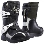 Fox 2017 Kids PeeWee Comp 5 Boots - Black / Silver