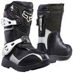 Fox 2018 Kids PeeWee Comp 5 Boots - Black / Silver