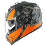 Shark S700S ECE Helmet - Trax Black/Orange/Anthracite