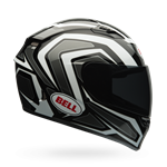 Bell Qualifier Machine ECE Helmet - White/Black