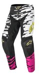 (CLEARANCE SALE) - Alpinestars 2016 RACER BRAAP PANTS - WHITE/PINK/BLACK