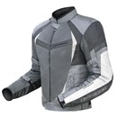 DriRider Air Ride 2 Mens Textile Jacket Silver Black