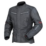 (CLEARANCE) DRIRIDER APEX 4 WATERPROOF TEXTILE JACKET - BLACK