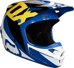FOX 2018 V1 RACE ECE HELMET - BLUE