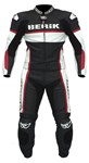 (CLEARANCE SALE) - BERIK CHICANE 2 PIECE LEATHER SUIT - RED