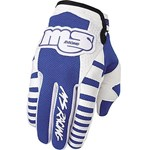 (CLEARANCE SALE) - MSR OldSchool Men's MX Gloves - Blue - only $10