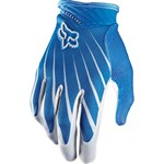(CLEARANCE SALE) - Fox 2014 Airline Gloves - White / Blue