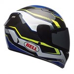 Bell Qualifier Torque ECE Helmet - Blue/Yellow
