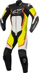 Alpinestars Motegi V2 1-Piece Leather Suit (Black/White/Fluro/Yellow)