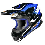 M2R EXO Factory  Helmet - Blue Metallic