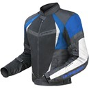 DriRider Air Ride 2 Mens Textile Jacket - Black Blue
