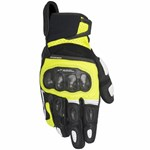 ALPINESTARS SPX AIR GLOVES - BLACK / FLURO