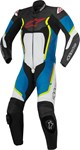 Alpinestars Motegi V2 1-Piece Leather Suit (Black/Blue/Yellow)