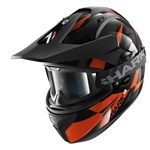 Shark Explore-R Cisor Helmet - Black/Orange