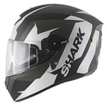 (CLEARANCE SALE) - Shark SKWAL Helmet - Sticking Matt Black/White