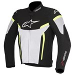 Alpinestars T-GP Plus R v2 Air Jacket - Black White Yellow