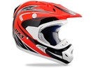 (CLEARANCE SALE) - RXT Flashback Motocross helmet - Red