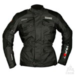 (CLEARANCE SALE) - HARDT SAFARI TEXTILE JACKET BLACK/GREY