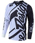 TROY LEE DESIGNS 2019 SE JERSEY SHADOW WHITE / BLACK