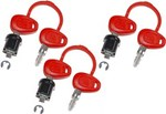 Givi 3-Case Lock Set With 6 Matched Keys (Z228)