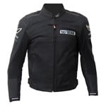 Berik Airflow Mens Leather Jacket - Black