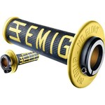 ODI EMIG MX LOCKON GRIPS 2S BLACK/YELLOW