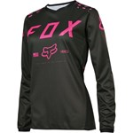FOX 2017 WOMENS 180 JERSEY - BLACK / PINK