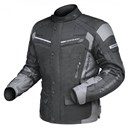 DRIRIDER APEX 3 WATERPROOF TEXTILE JACKET - BLACK / GREY
