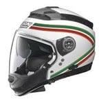 NOLAN N44 ITALY HELMET- WHITE/RED/GREEN