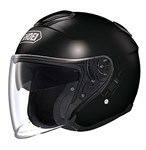 Shoei J-Cruise Helmet - Solid Gloss Black