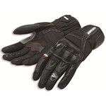 Ducati City C2 Leather Gloves - Black